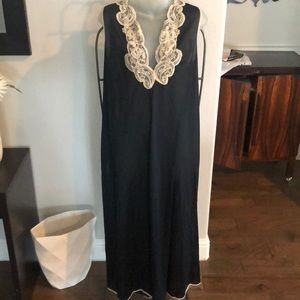 Vintage black nightgown